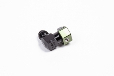 Radium Engineering 3/8in SAE Female to 6AN Male Low Profile Elbow