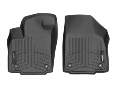 WeatherTech 16+ Toyota Tacoma (Manual Transmission Only) Front FloorLiner – Black