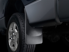 WeatherTech 17+ GMC Acadia/Acadia Denali (Works w/ All Terrain Package) No Drill Mudflaps – Black