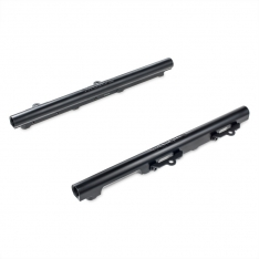 Grams Performance 11-18 Ford Mustang 5.0L Coyote Fuel Rail – Black