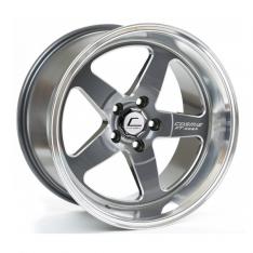 Cosmis Racing XT005R-1890-25-5×114.3-GMML Wheel Gun Metal w/ Machined Lip 18×9 +25mm 5×114.3