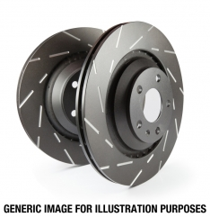 EBC 02 Infiniti G35 3.5 w/o DCS USR Slotted Front Rotors