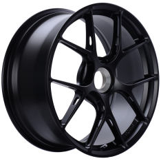 BBS FI-R 20×9 Center Lock ET52 CB84 Satin Black Wheel