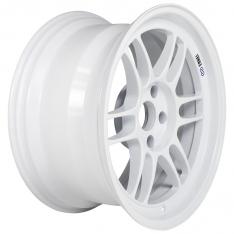 Enkei RPF1 17×9 5×114.3 22mm Offset 73mm Bore Vanquish White Wheel