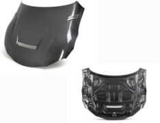 Seibon HD20TYSUP-VS-DS 2020 Toyota Supra VS-Style Carbon Fiber Hood