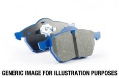 EBC 02 Infiniti G35 3.5 w/o DCS Bluestuff Rear Brake Pads