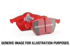 EBC 02 Infiniti G35 3.5 w/o DCS Redstuff Rear Brake Pads