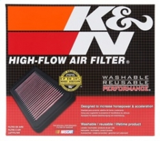 K&N 07-10 Toyota Tundra/Sequoia/Land Cruiser Drop In Air Filter