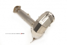 AMS Performance AMS.21.05.0001-1 2015+ VW Golf R MK7 Downpipe w/High Flow Catalytic Converter