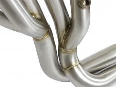 aFe Twisted 48-36105-YN Steel Tri-Y Headers/Connection Pipes (Race) 01-16 Nissan Patrol (Y61) 4.8L