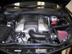 K&N 63-3074 10-15 Chevrolet Camaro 6.2L V8 Aircharger Performance Intake