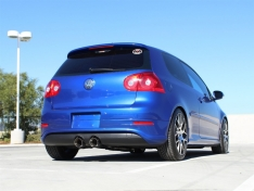 aFe MACHForce 49-36408-P XP 2-1/2in SS-304 Cat-Back Exhausts w/ Polished Dual Tips 2008 VW Golf R32 V6-3.2L MKV