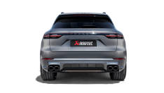Akrapovic S-PO/TI/17H 2019+ Porsche Cayenne Turbo/Coupe V8 (536) Evolution Line Cat Back (Titanium – Tips Req)
