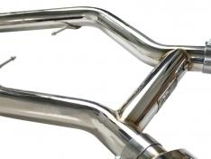 aFe MACHForce 49-36301 XP Exhausts Cat-Back SS-304 EXH CB BMW 335i (E90/92 Only) 07-09 L6-3.0L (tt) SS-304
