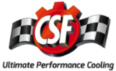 CSF Universal Triple Pass Dual Core Radiator w/AN Fittings