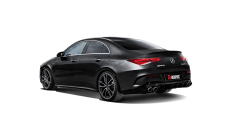 Akrapovic S-ME/TI/10H 2019+ Mercedes-Benz CLA35 AMG (C118/X118) Slip-On Line (Titanium) w/ Titanium Tips