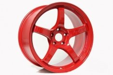 Gram Lights 57CR WGCRX38EMRP 18X9.5 +38 5X114.3 Milano Red