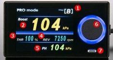 HKS 45003-AK013 EVC EVC7-IR 2.4 Universal Boost Controller