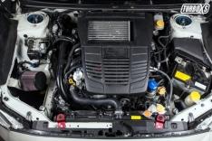 Turbo XS 15-16 Subaru WRX/STI Billet Aluminum Radiator Stay – Red
