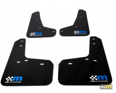 mountune / Rally Armor 13-18 Ford Focus ST Mud Flap Set – Blue