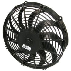SPAL 844 CFM 11in Low Profile Fan – Pull / Curved