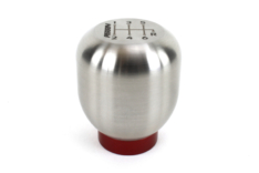 Perrin PHP-INR-120SS 17-18 Honda Civic Brushed Stainless Steel Large Shift Knob – 6 Speed