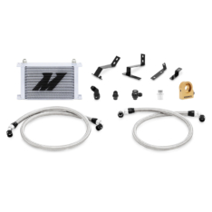 Mishimoto 2016+ Chevy Camaro Oil Cooler Kit w/ Thermostat – Silver