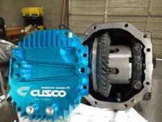 Cusco 965 008 AL Rear Differential Cover Blue Large Capacity Subaru BRZ / Scion FR-S