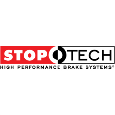 StopTech Power Slot 06-11 Lexus GS Series / 06-12 IS350 Front Left Drilled & Slotted Rotor