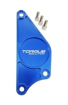 Torque Solution TS-CAM-PLTBU Billet Aluminum Cam Plate (Blue): Subaru BRZ / Scion FR-S 2013+